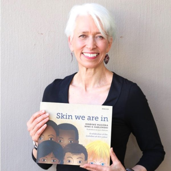 Jablonski at the launch of Skin We Are In, Martch 2018